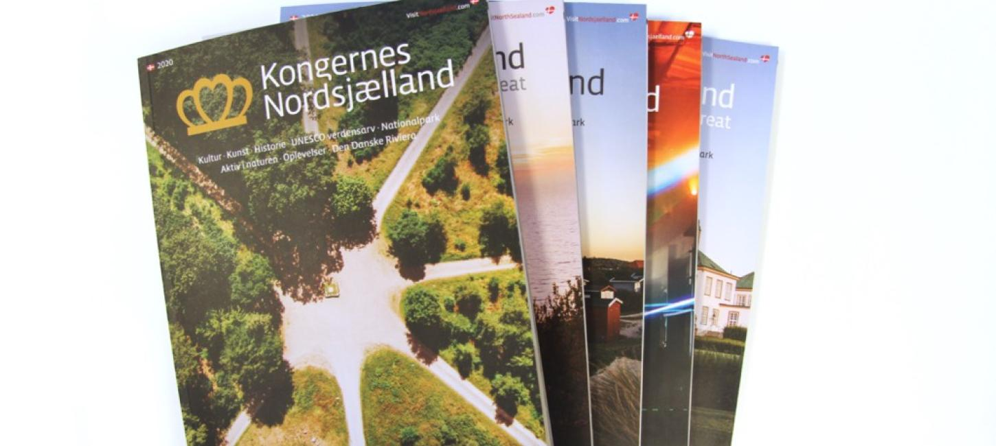 VisitNordsjællands årlige turist- og inspirationsmagasin for 2020